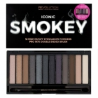 Makeup Revolution, Iconic Smokey, Paleta 12 cieni