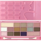 Makeup Revolution, I Heart Chocolate Pink Fizz, Paleta cieni