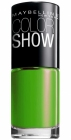 Maybelline, Color Show Neons, Lakier, 190 Green Zing