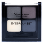 Pierre Rene, Eyebrow Set, Zestaw do modelowania brwi, Grey