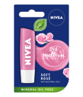 Nivea Soft Rose Pomadka Ochronna 4,8g