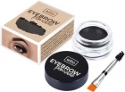 Wibo, Eyebrow Pomada do brwi, Black Brown