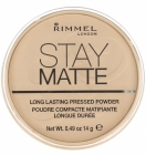 Rimmel Stay Matte Puder 001 Transparent 14 g.