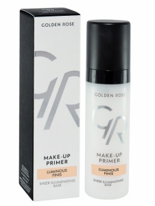 Golden Rose Make-Up Primer Swietliste Luminous Finish Wykończenie 30ml.