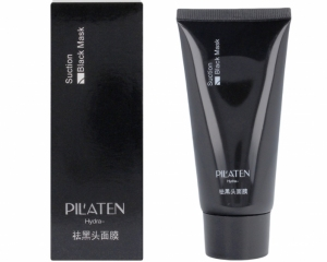 Pilaten, Black Head Pore Strip, Czarna Maska w tubie, 60g